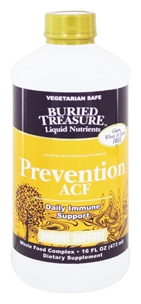 Buried Treasure Products - Prevention ACF High Potency Immune Support - 16 oz.