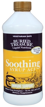 Buried Treasure Products - Soothing Syrup ACF Immune Support - 16 oz.