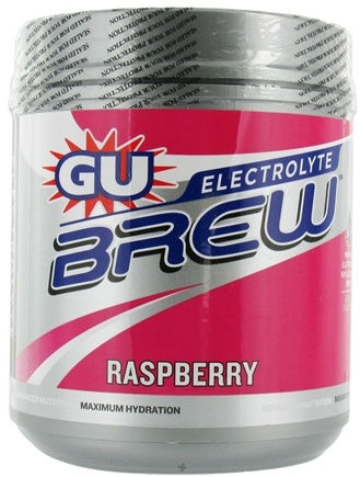 DROPPED: GU Energy - GU Electrolyte Brew Canister Raspberry - 910 Grams CLEARANCE PRICED
