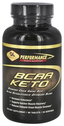 Olympian Labs - BCAA Keto Branched Chain Amino Acid - 90 Tablets Formerly BCAA Keto (3:1)