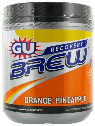 DROPPED: GU Energy - GU Recovery Brew Canister Orange Pineapple - 840 Grams CLEARANCED PRICED