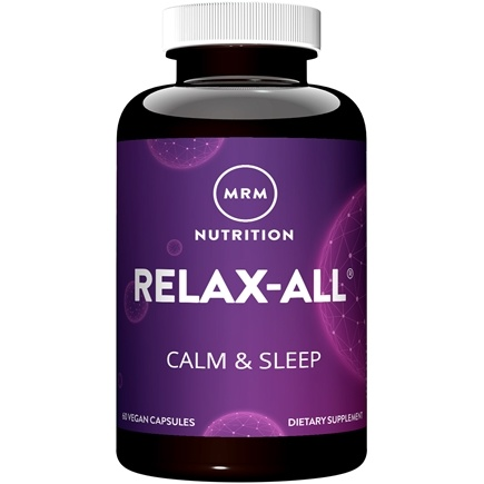 MRM - Relax-All - 60 Capsules