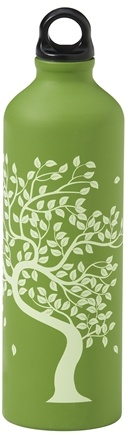 DROPPED: Gaiam - Tree Of Life Aluminum Water Bottle - 750 ml. CLEARANCE PRICED