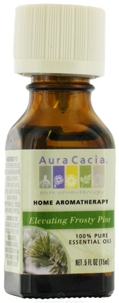 DROPPED: Aura Cacia - Aromatherapy Essential Oils Elevating Frosty Pine CLEARANCE PRICED - 0.5 oz.