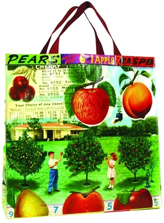DROPPED: Blue Q - Get Real Fruit Shopper Bag - CLEARANCE PRICED