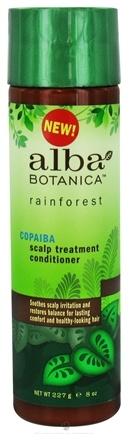 DROPPED: Alba Botanica - Rainforest Scalp Treatment Conditioner Copaiba - 8 oz.