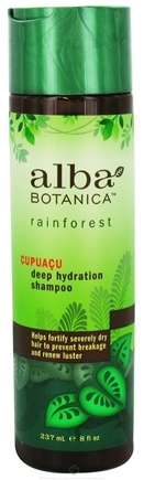 DROPPED: Alba Botanica - Rainforest Shampoo Deep Hydration Cupuacu - 8 oz.