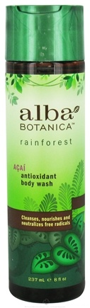 DROPPED: Alba Botanica - Rainforest Antioxidant Body Wash Acai - 8 oz.