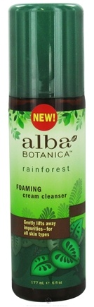 DROPPED: Alba Botanica - Rainforest Cream Cleanser Foaming - 6 oz.