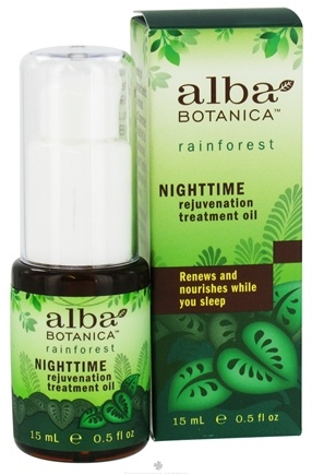 DROPPED: Alba Botanica - Rainforest Treatment Oil Nighttime Rejuvenation - 0.5 oz. CLEARANCE PRICED