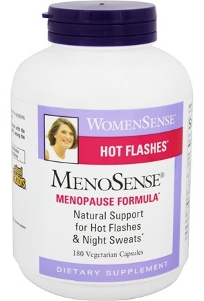 Natural Factors - WomenSense MenoSense MenoPause Formula - 180 Vegetarian Capsules