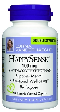 DROPPED: Natural Factors - HappySense 5-Hydroxytryptophan 100 mg. - 60 Caplets