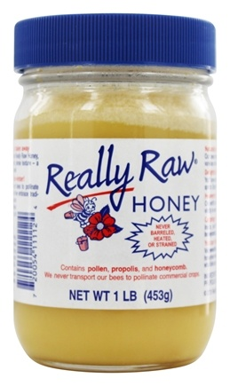 Really Raw Honey - Pesticide-Free Honey (16oz.) (453g) - 1 lb.