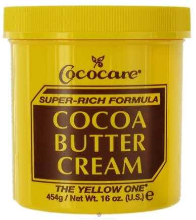 DROPPED: Cococare - Cocoa Butter Cream Super-Rich Formula The Yellow One - 16 oz.