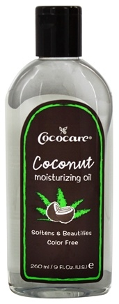 Cococare - Coconut Moisturizing Oil - 9 oz.