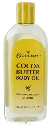 DROPPED: Cococare - Cocoa Butter Body Oil - 8.5 oz.