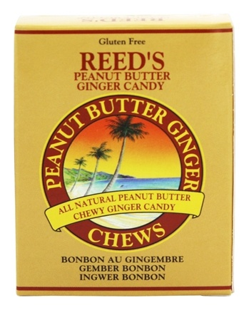 Reed's - Candy Chews Peanut Butter Ginger - 2 oz.