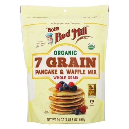 Bob's Red Mill - Organic 7 Grain Pancake & Waffle Mix - 26 oz.
