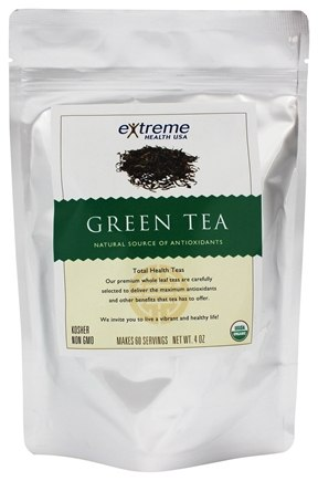 Extreme Health USA - Organic Loose Leaf Green Tea - 4 oz.