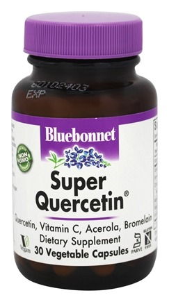 Bluebonnet Nutrition - Super Quercetin - 30 Vegetable Capsule(s)
