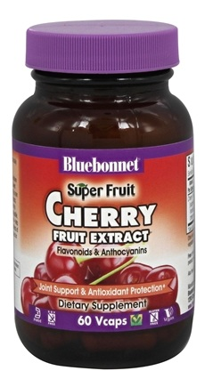 Bluebonnet Nutrition - Super Fruit Cherry Fruit Extract - 60 Vegan Caps