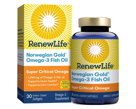 DROPPED: Renew Life - Norwegian Super Critical Omega-3 1200 mg. - 30 Enteric Coated Softgels