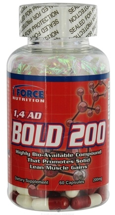 DROPPED: iForce Nutrition - 1,4 AD Bold 200 200 mg. - 60 Capsules