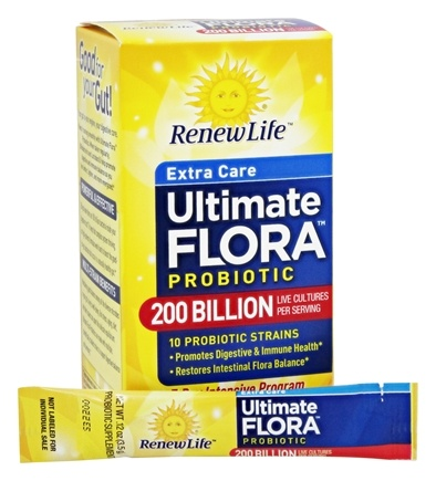 Renew Life - Ultimate Flora Extra Care Probiotic - 7 Packet(s) Formerly Super Critical
