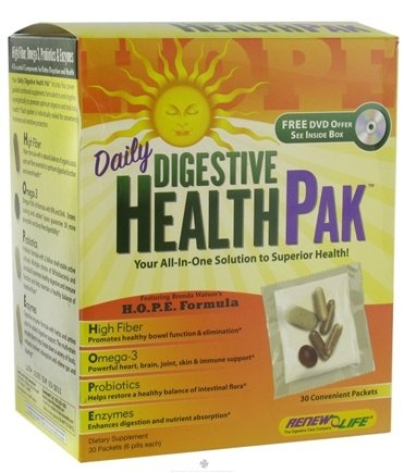 DROPPED: ReNew Life - Daily Digestive HealthPak - 30 Packet(s)