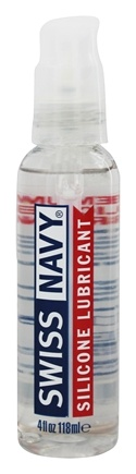 MD Science Lab - Swiss Navy Silcone Based Lubricant - 4 oz.
