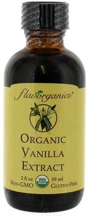 DROPPED: Flavorganics - Organic Extract Vanilla - 2 oz. CLEARANCE PRICED