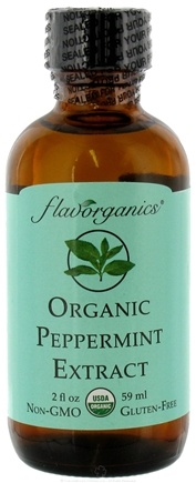 DROPPED: Flavorganics - Organic Extract Peppermint - 2 oz.