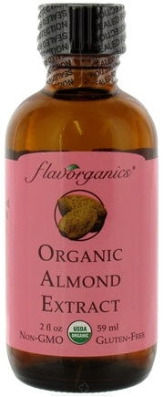 DROPPED: Flavorganics - Organic Extract Almond - 2 oz. CLEARANCE PRICED