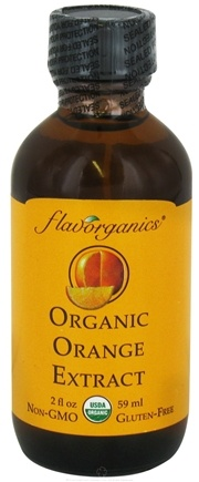 DROPPED: Flavorganics - Organic Extract Orange - 2 oz.