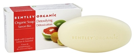 Bentley Organic - Bar Soap Detoxifying With Grapefruit, Lemon & Seaweed - 5.3 oz.