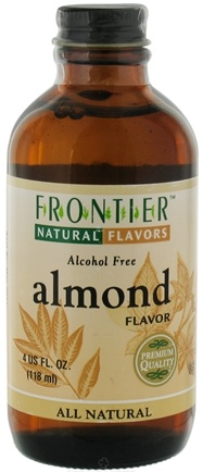 DROPPED: Frontier Natural Products - All-Natural Alcohol-Free Flavor Almond - 4 oz.