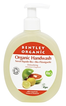 DROPPED: Bentley Organic - Liquid Handwash Detoxifying With Grapefruit Lemon & Seaweed Oils - 8.8 oz.