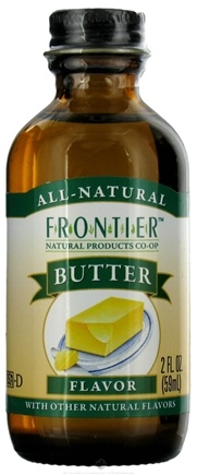 DROPPED: Frontier Natural Products - All-Natural Flavor Butter - 2 oz. CLEARANCE PRICED