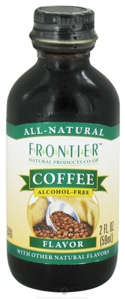 DROPPED: Frontier Natural Products - All-Natural Alcohol-Free Flavor Coffee - 2 oz.