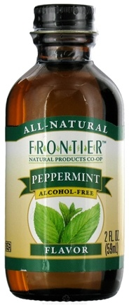 DROPPED: Frontier Natural Products - All-Natural Alcohol-Free Flavor Peppermint - 2 oz.