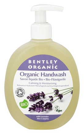 Bentley Organic - Liquid Handwash Calming & Nourishing With Lavender, Aloe & Jojoba - 8.4 oz.