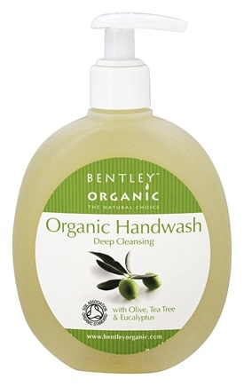 DROPPED: Bentley Organic - Liquid Handwash Deep Cleansing With Olive Tea Tree & Eucalyptus Oils - 8.8 oz.