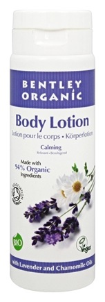 DROPPED: Bentley Organic - Calming Body Lotion with Lavender and Chamomile Oils - 8.4 oz.