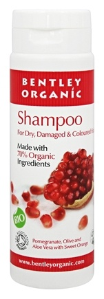 Bentley Organic - Shampoo 70% Organic For Dry & Damaged Hair - 8.4 oz.