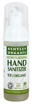 Bentley Organic - Anti-Bacterial Moisturising Hand Sanitizer - 1.6 oz.