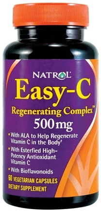DROPPED: Natrol - Easy-C Regenerating Complex 500 mg. - 60 Vegetarian Capsules CLEARANCE PRICED