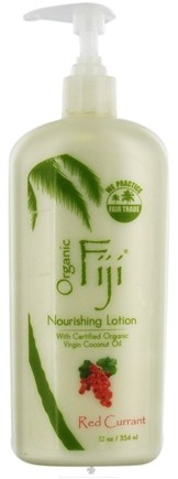 DROPPED: Organic Fiji - Nourishing Lotion Red Currant - 12 oz. CLEARANCE PRICED