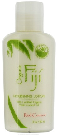 DROPPED: Organic Fiji - Nourishing Lotion Red Currant - 3 oz. CLEARANCE PRICED