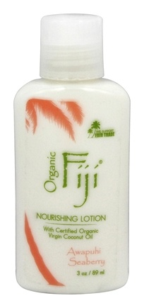 Organic Fiji - Nourishing Lotion - 3 oz.
