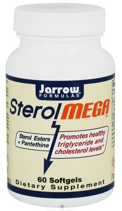 DROPPED: Jarrow Formulas - Sterol Mega - 60 Softgels